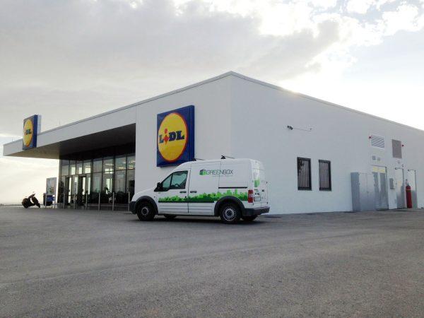Κατάστημα Υπεραγοράς τροφίμων Lidl,  Νομού Κιλκίς